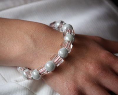 Bracelet Cristal et perles