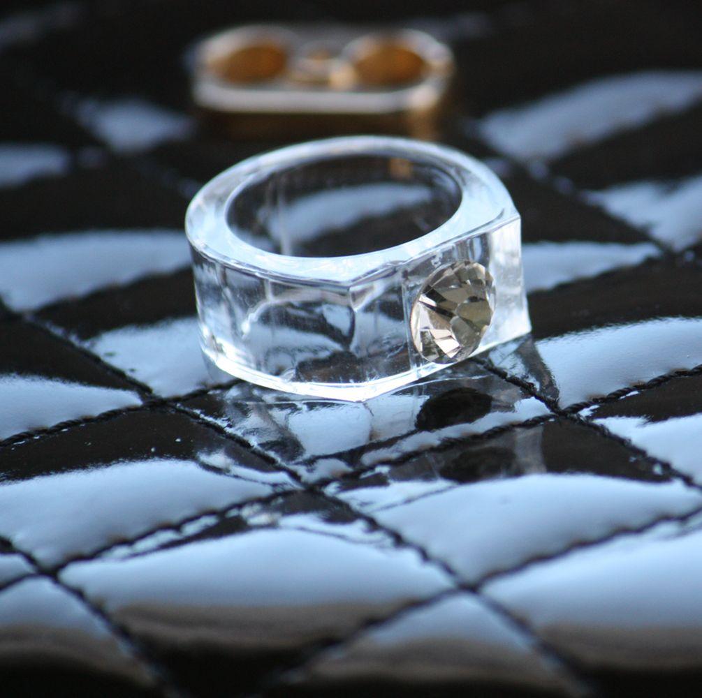bague de fiançaille cristal