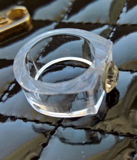Bague diamant cristal