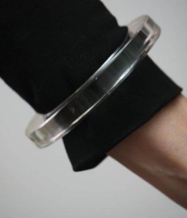 bracelet plexi rond