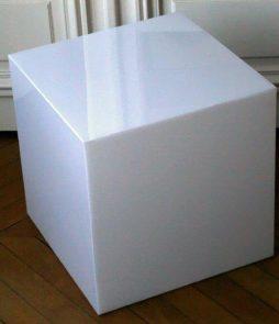 cube lumineux éteint