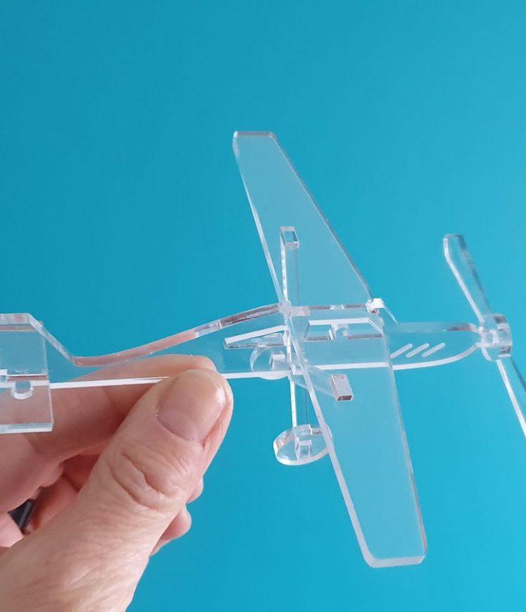 avion Plexi décoration