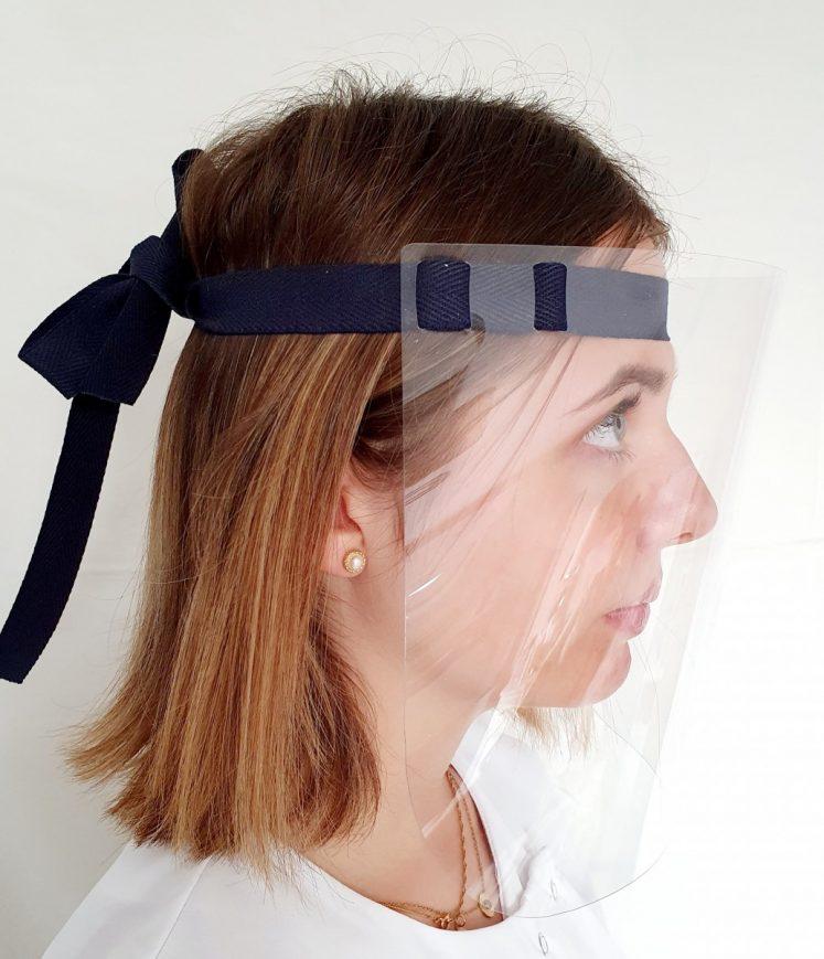 visière de protection bandeau