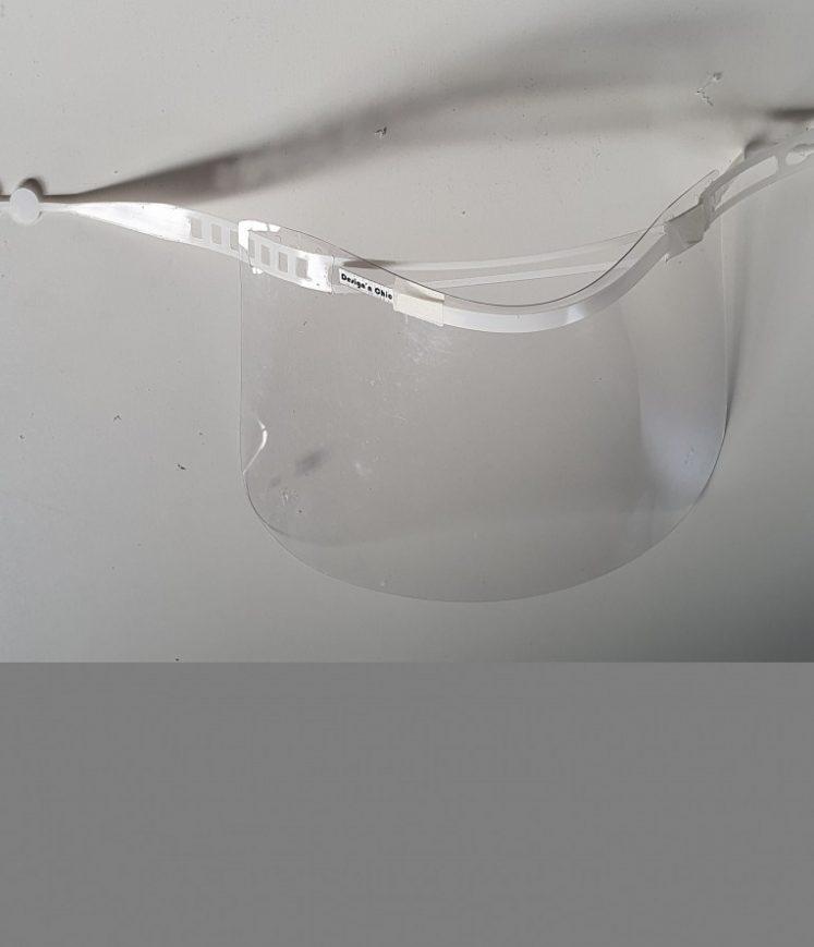 visière à nettoyage rapide